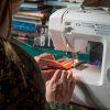 woreczek z majańskiej tkaniny - proces powstawania